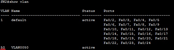 configuring vtp client vlan