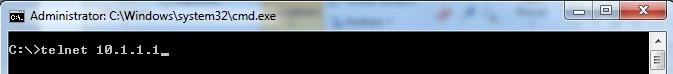 telnet windows
